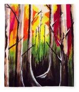Dark Woods Fleece Blanket