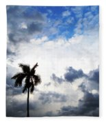 Darkness Moving In Fleece Blanket