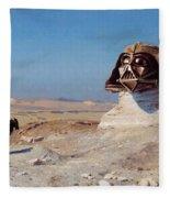 Darth Sphinx 2 Fleece Blanket