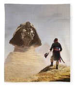 Darth Sphinx 3 Fleece Blanket