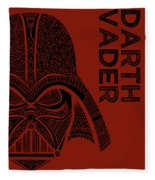 Darth Vader - Star Wars Art  Fleece Blanket