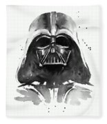 Darth Vader Watercolor Fleece Blanket