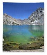 Darwin Canyon Lower Lake - Sierra Fleece Blanket