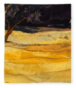 Date In The Night Fleece Blanket