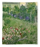 Daubigny's Garden Fleece Blanket