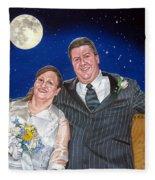 Dave And Sue Fleece Blanket