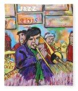 Dave Dickey Big Band Fleece Blanket