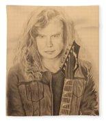 Dave Mustaine Fleece Blanket