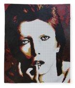 David Bowie Fleece Blanket