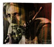 David Bowie / The Man Who Fell To Earth  Fleece Blanket