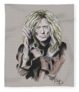 David Coverdale Fleece Blanket