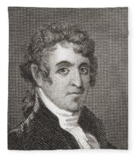 David Humphreys,1752 To 1818 Fleece Blanket