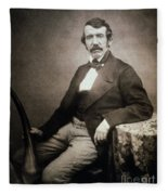 David Livingstone (1813-1873) Fleece Blanket