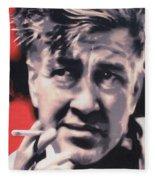 David Lynch Fleece Blanket