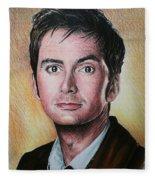 David Tennant Fleece Blanket