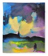 Dawn 05 Fleece Blanket