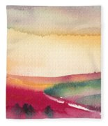 Dawn 12 Fleece Blanket