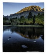 Dawn At Rush Creek 3 Fleece Blanket