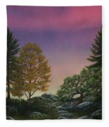 Dawn Of Day Fleece Blanket