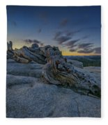Dawn On Sentinel Fleece Blanket