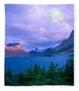 Dawn On St. Mary Fleece Blanket