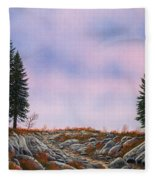 Dawn Pacific Crest Trail Fleece Blanket