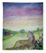 Dawn Patrol Fleece Blanket