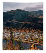 Dawson City - Yukon Fleece Blanket