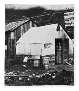Dawson City, C1900 Fleece Blanket