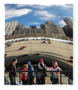 Day At The Park Fleece Blanket