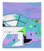 Day Flight Fleece Blanket