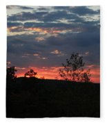 Day Is Done Fleece Blanket