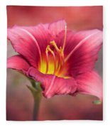 Day Lily Deep Fleece Blanket