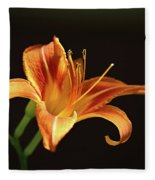 Day Lily Fleece Blanket