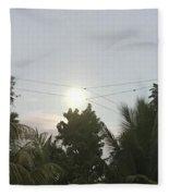 Day Moon Fleece Blanket