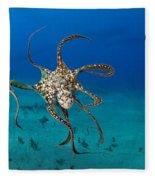 Day Octopus Fleece Blanket