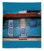 Daydreaming Blues Fleece Blanket
