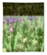 Daydreams In A Meadow Fleece Blanket