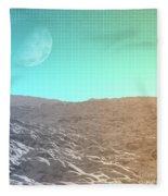 Daylight In The Desert Fleece Blanket