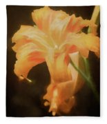 Daylily Dream Fleece Blanket