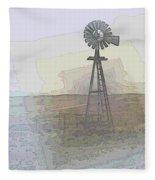 Days Of Wind Fleece Blanket