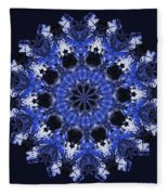 Days Will Pass Mandala Fleece Blanket