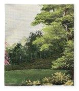 Daytime Color Fleece Blanket