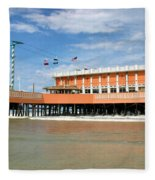 Daytona Beach Pier Fleece Blanket