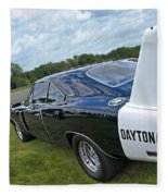 Daytona Charger Fleece Blanket