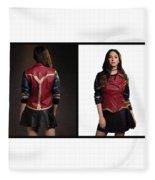 Dc Comics Wonder Woman Jacket Fleece Blanket