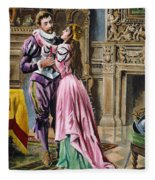 De Soto & Isabella, 1539 Fleece Blanket