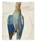 Dead Blue Roller Fleece Blanket