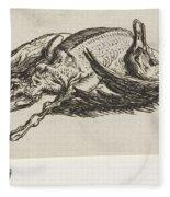 Dead Duck, Jacob Elias Van Varelen, After Jacob De Gheyn II, 1821 Fleece Blanket
