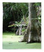 Wild Florida Dead Mans River Fleece Blanket